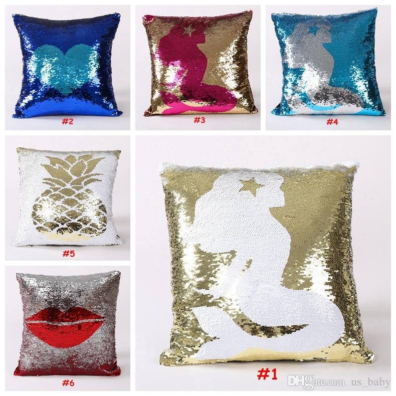 cushion car yellow throw reindeer case bling skin peach decorative covers polyester pillows cover product gold pillowcases sofa pillow