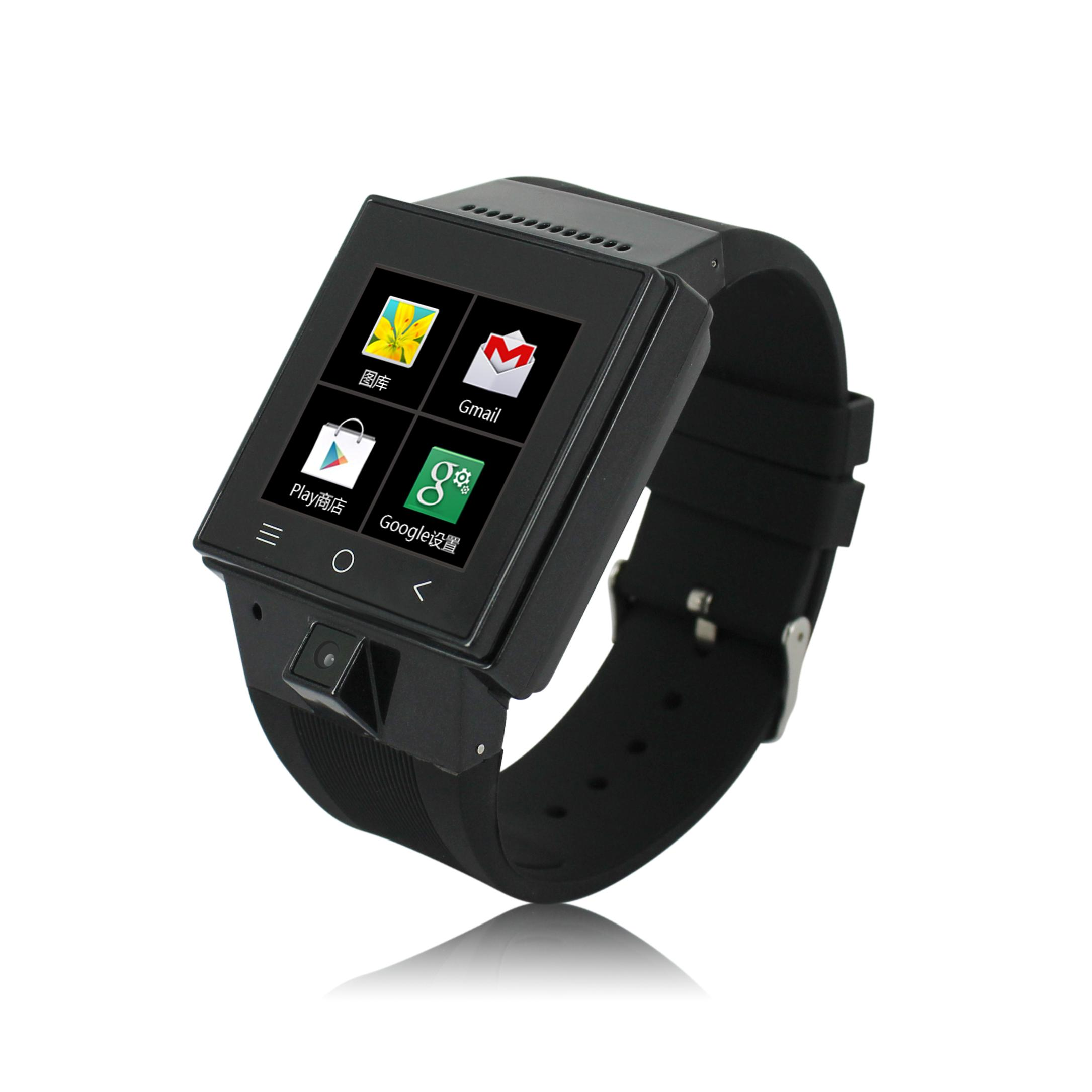watches full product pedometer bluetooth new touch circle mobile phone rate screen heart monitor
