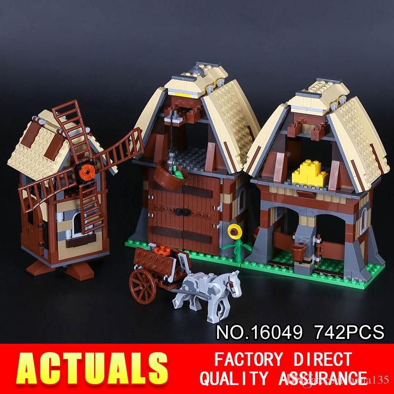best lepin 16049 creative series the mill village raid set genuine 7189 building blocks bricks educational toys christmas gift under 45 23 dhgate com