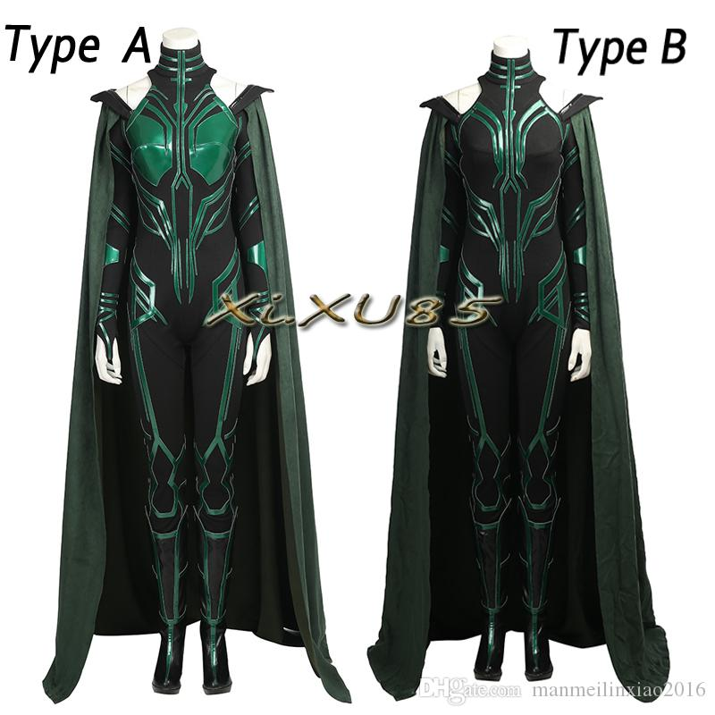 Popular Movie Thor 3 Ragnarok Hela Trailer Cosplay Costume Type A Or Type B With Boots Custom Made With Boots Halloween Clothes Cute Group Costumes For ...  sc 1 st  DHgate.com & Popular Movie Thor 3 Ragnarok Hela Trailer Cosplay Costume Type A Or ...