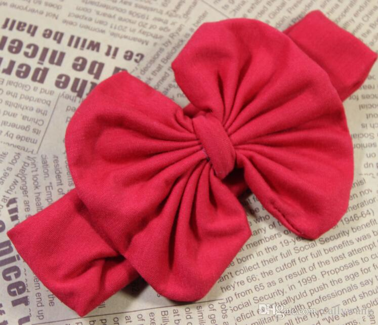 x3 Fashion 4'' Baby Girl Hair Accessories Kids Headband Ribbon Hair Bows Hairband Elastic Hair bands Bandeau Accesories