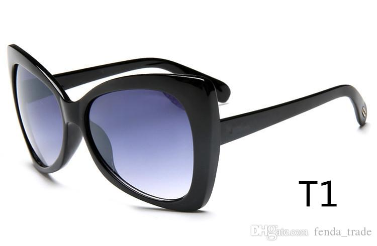 Marke Cat Eye Sonnenbrille Frauen Markendesigner Sonnenbrille Männer Super Star Fahren Sonnenbrille Tom Für Männer Brillen 175 top-qualität MOQ = 10