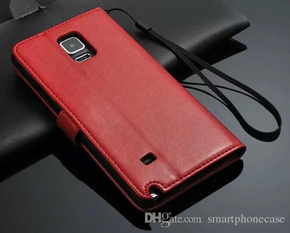 2016에 대한 삼성 N9150 케이스 클립 지갑 커버 럭셔리 플립 귀여운 다채로운 비즈니스 얇은 가죽 케이스에 대한 삼성 갤럭시 노트 가장자리 N9150