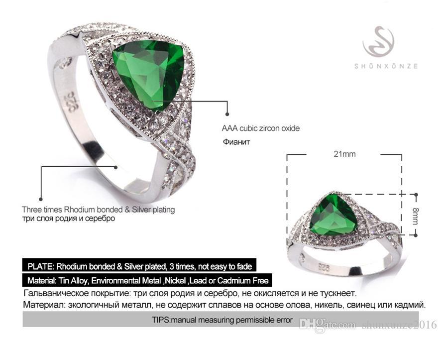 Eerste klas Producten Noble Generous MN562 SZ # 6 7 8 9 Bestsellers Peridot Cubic Zirconia Raden koperen rhodium vergulde groothandel ringen aan