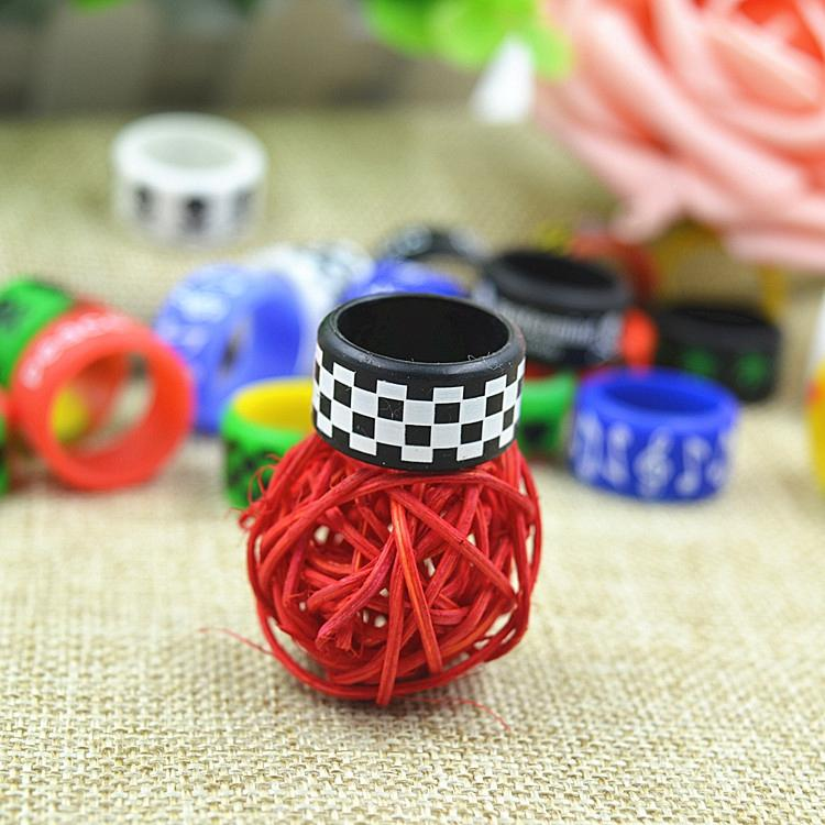 Silicon band beauty ring Non-Slip Non-Skid 18mm diameter silicone vape band for mechanical mods rba rda atomizer decorative mech vapor mod