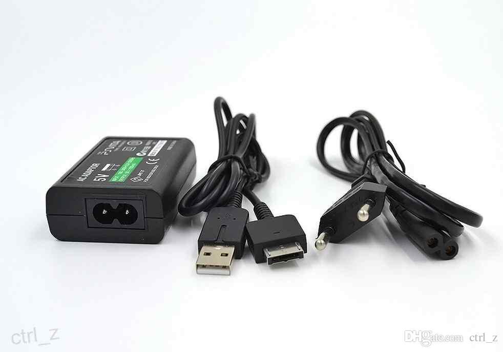 Adaptador AC EUA Plug Charger Para Sony Playstation PS Vita PSV PSVITA 100 ~ 240 V DC 5 V 1500 mAH