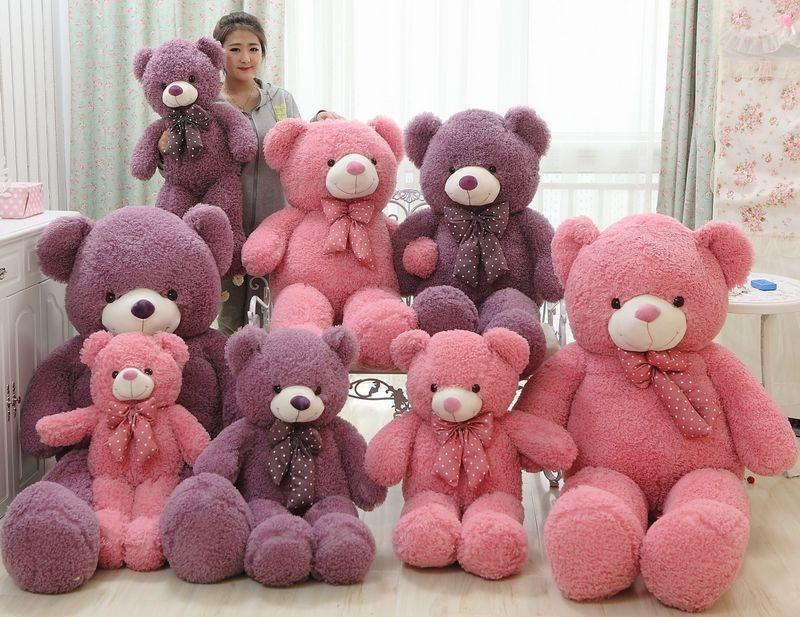 120cm Giant Plush Teddy Bear Birthday Gifts For Girl Friend Cutest Valentines Teddy Bears Toys Plush Giant Plush Teddy Bear Birthday Gifts Valentines Teddy ...