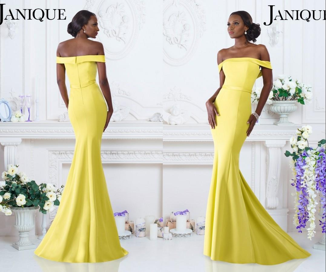Formal dresses evening janique c1456 chartreuse 2016 mermaid long formal dresses evening janique c1456 chartreuse 2016 mermaid long off the shoulder red carpet dress smooth band celebrity gowns designer maternity evening ombrellifo Image collections