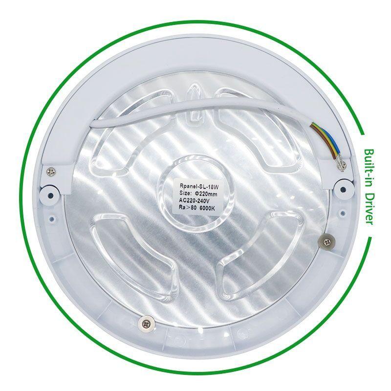 18 W LEVOU Luz de Painel Luzes de Teto Led Sensor Downlight Detector de Infravermelho Corpo Humano Motion Switch Flush Mount Light