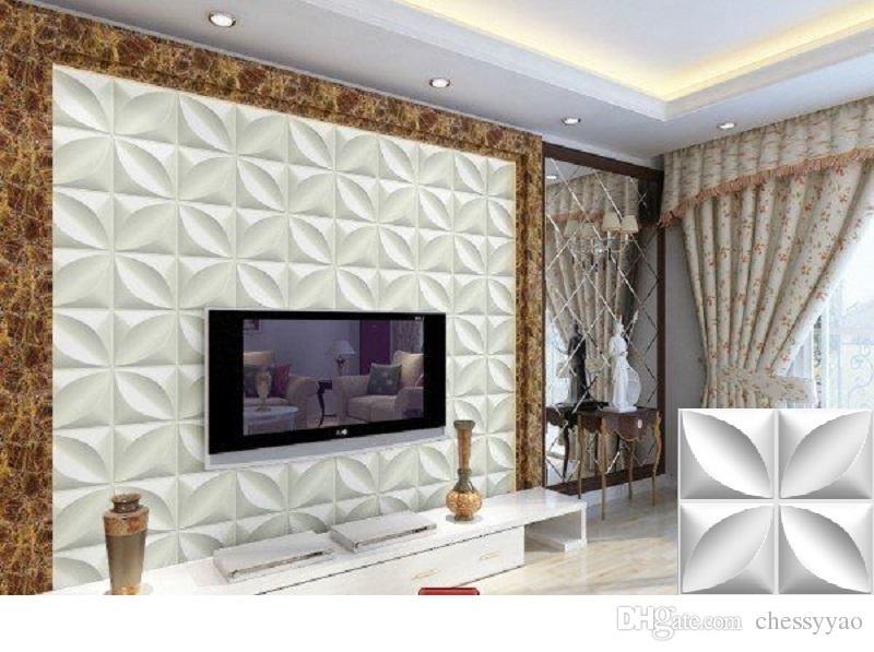 Colori Decorativi Per Pareti.Acquista Pannelli Decorativi A Parete In Pvc Leggero 3d A Prova Di