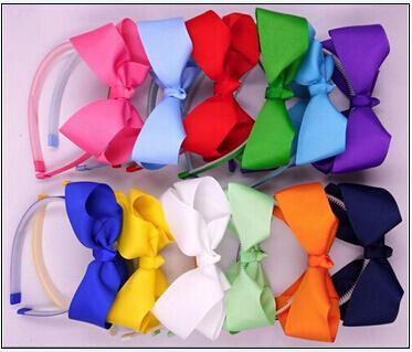 30% di sconto il 2015 il miglior regalo di natale dentellato fascia in plastica con boutique capelli arco copricapo accessori capelli bambini 20 pezzi
