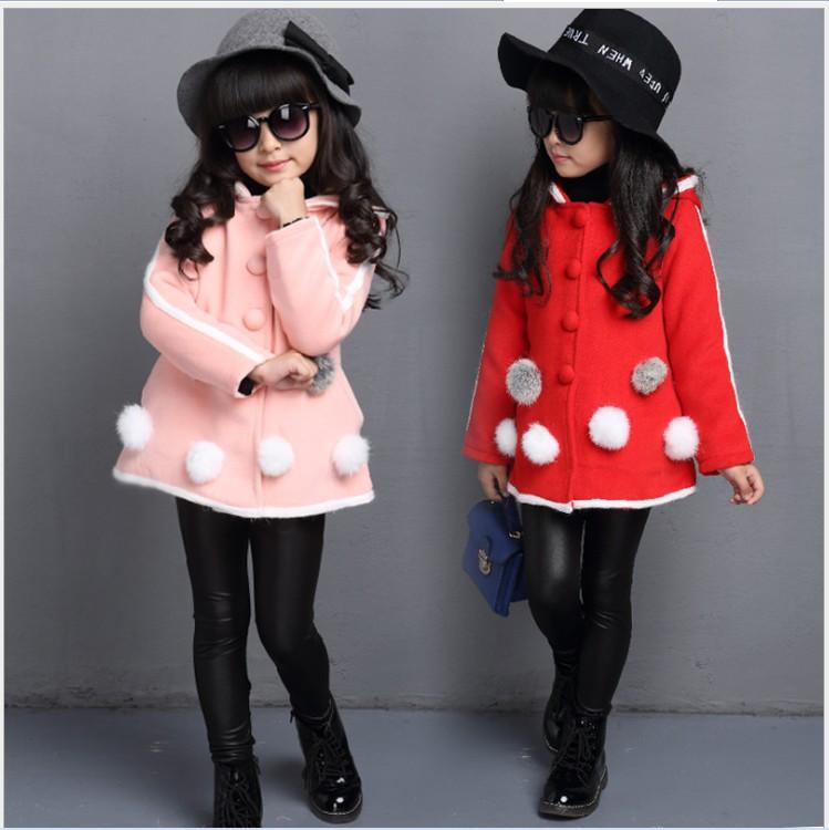 New Hot Sale Girls Autumn Winter Clothes Coats Outwear Children ...