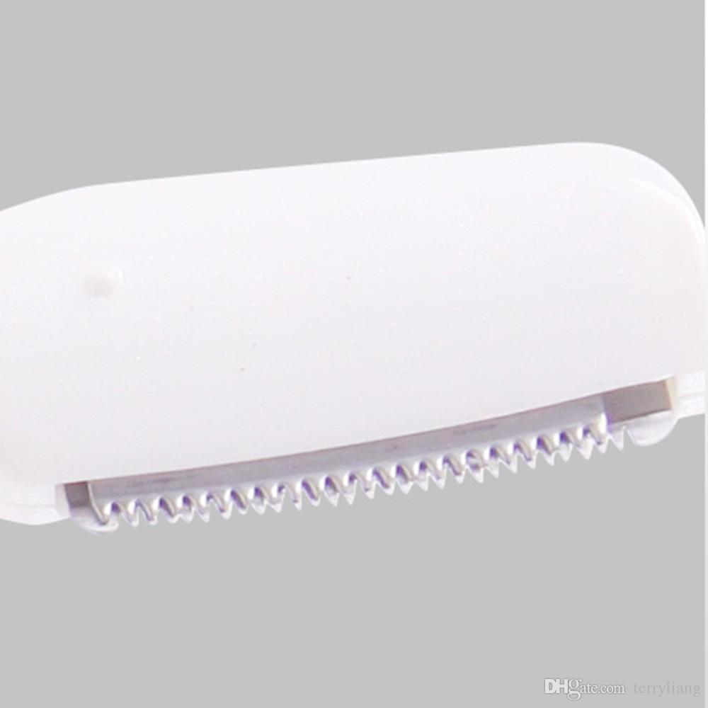 Top Micro Precision Sobrancelha Elétrica navalha Trimmer Biquíni Facial aparador de pêlos de barbear Removedor da senhora Navalha Shaver para uso das mulheres
