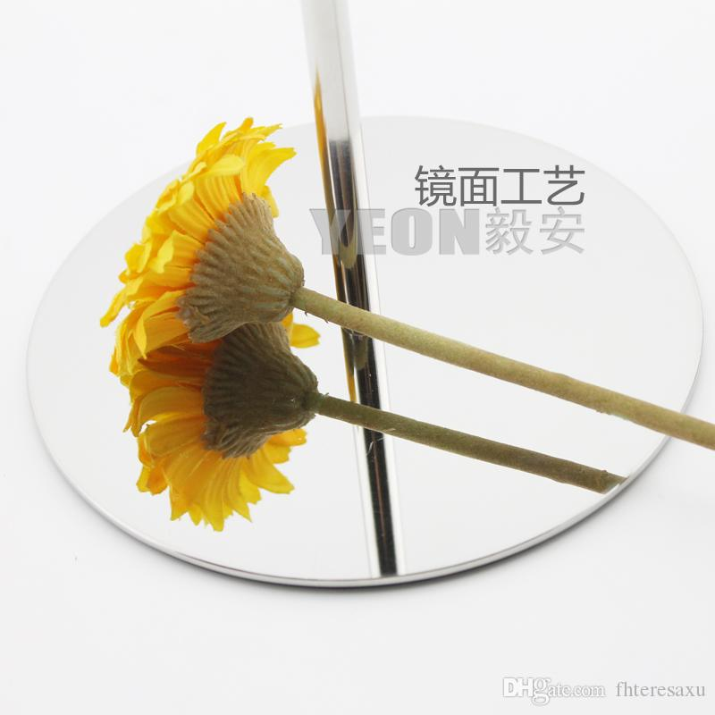 YEON stainless steel polish mirror hat display rack cap hanger for sale,bulk order available
