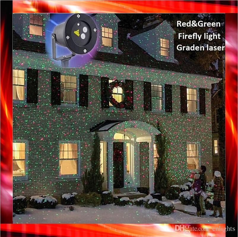 Outdoor Ip65 Waterproof Laser Stage Light Christmas Lights