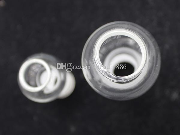 DHL-freies Glas bong Kuppel mit Nagelschalen 14.10 / 18mm Innenverbindungsglasschalen für Glas Wasser bong