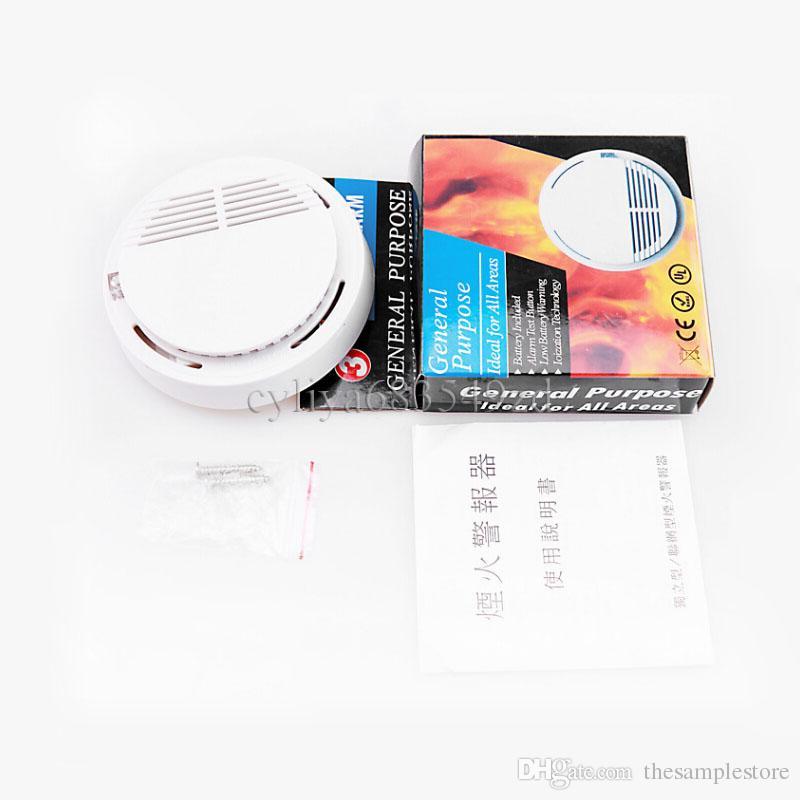 Weißes drahtloses Rauchmelder-System mit 9V batteriebetriebenem hohem Empfindlichkeits-stabilem Feuermelder-Sensor passend für die Ermittlung der Haussicherheit