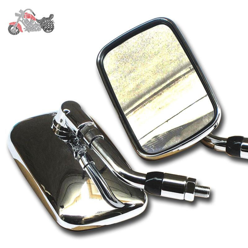 Custom Chopper Bike Mirror Motorcycle Accessories Chrome