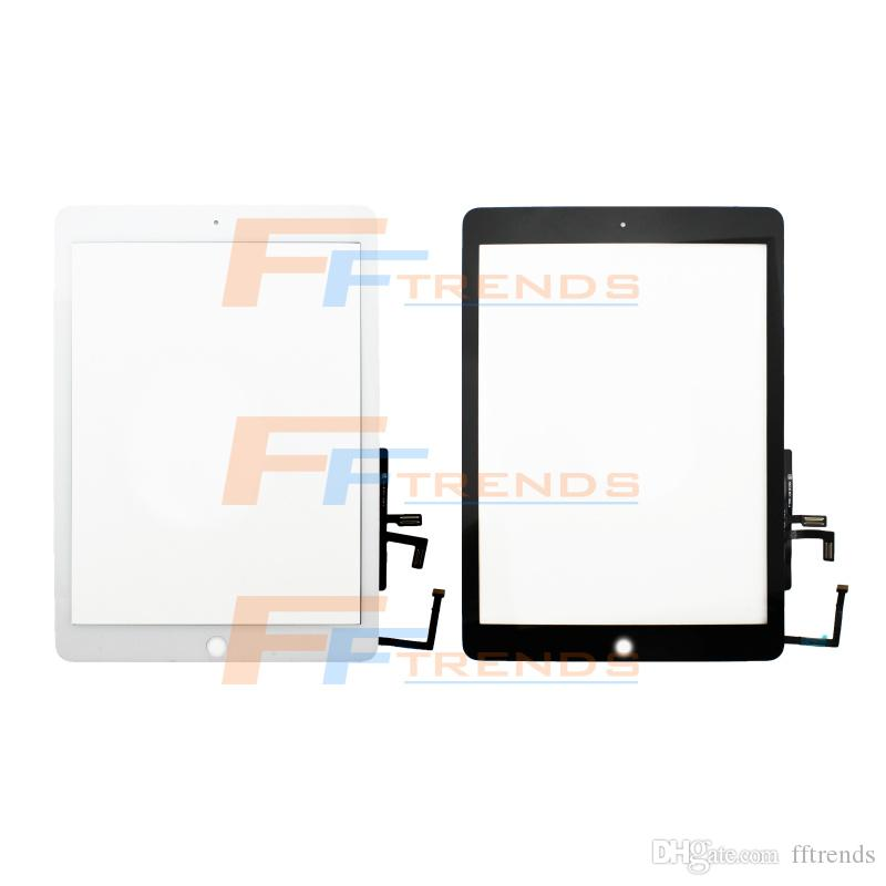 Factory Supplier for iPad Air 5 5th Touch Screen Digitizer Assembly with Home Button White Black Glass Panel Good Price