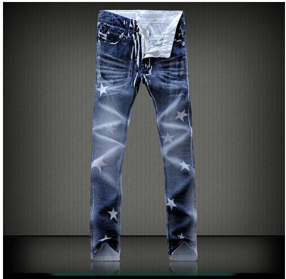 2017 2015 Hot Mens Designer Jeans Famous Brand Jeans Men Slim ...