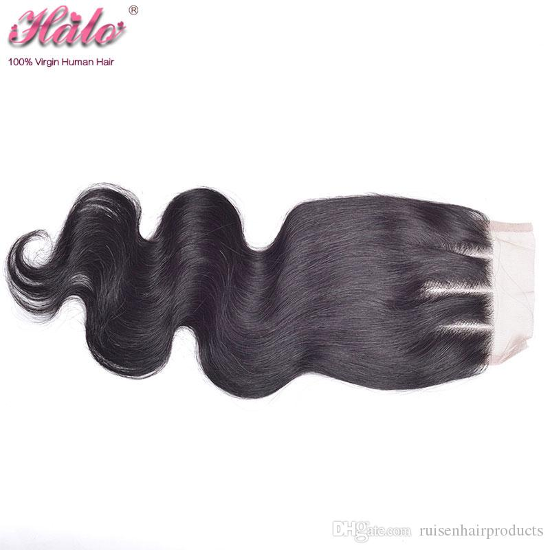 Top Lace Closure+Indian Grade 6A Body Wave Hair Bundles Indian Unprocessed Body Wave Hair Extensions