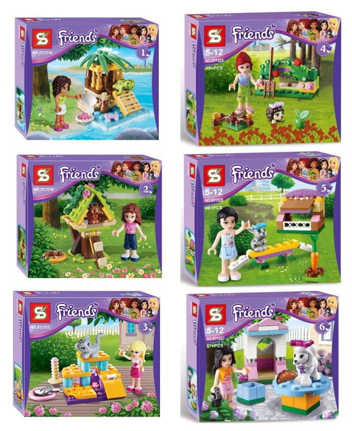 2018 Legos Friends Minifigures Building Toys Friends Series All New ...