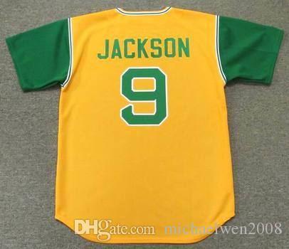 separation shoes 9b053 bd459 9 reggie jackson jersey baseball