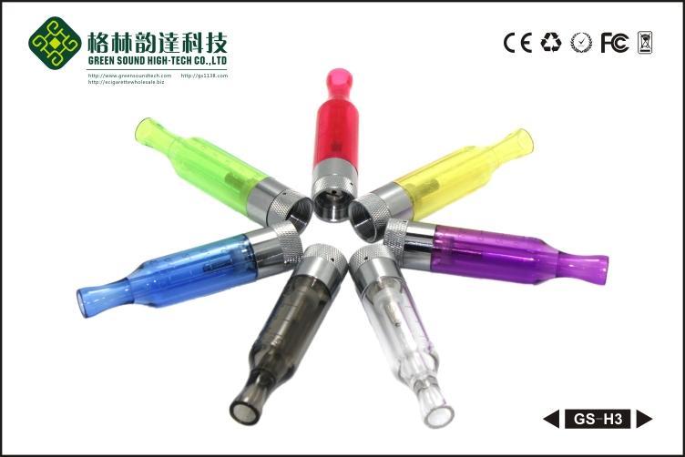 Rebuildable распылитель clearomizer GS H3 для ego электронной сигареты с высоким качеством и низкой ценой электронная сигарета стандартная резьба clearomizer
