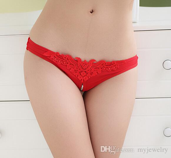 ab27247b8ca 2019 HOT~Sexy Pearl Thongs Free Size Women Open Crotch Sexy G String Beads  Panties Sex Products Fashion Underwear Women Briefs CW22052 6 From  Myjewelry