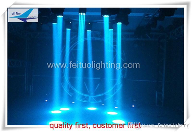 4 lotes / estuche de vuelo llevó la luz del haz de cabeza móvil 36 * 3 vatios iluminación de show profesional con estuche de vuelo