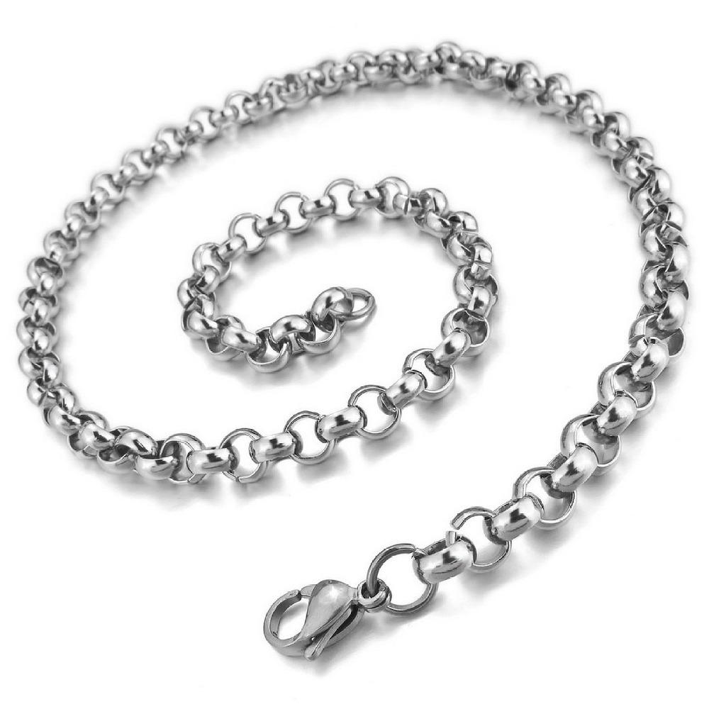Grent Chain New Design Necklace Men\'s 7.0mm Wide Stainless Steel ...