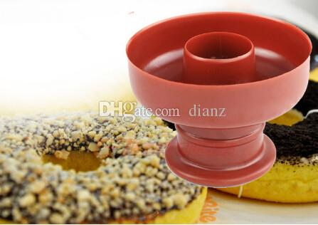 Fashion Hot Donut Maker Cutter Mold Fondant Cake Bread Desserts Bakery Mould Tool DIY