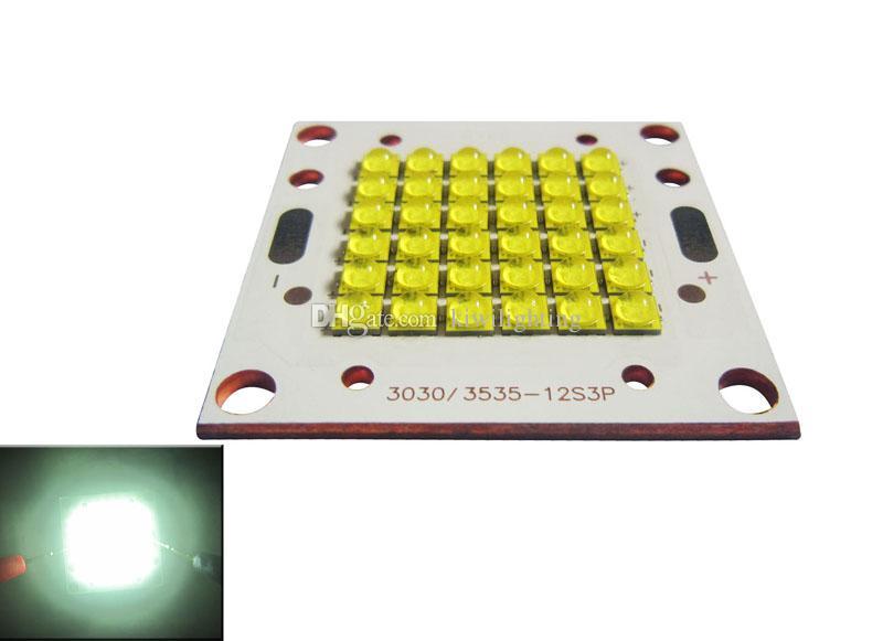 60-90W / 72-100W Cree XT-E XTE 4800K Pure White 2-3A Led Module Chip Light Copper Plate PCB Board