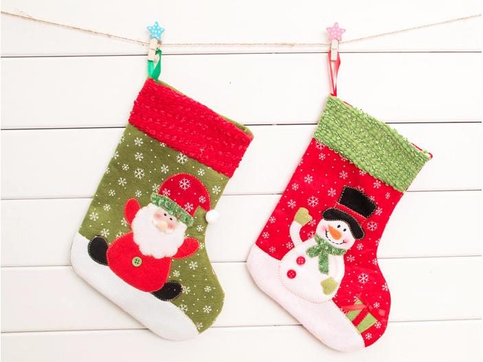 Christmas Socks Christmas Stockings Santa Claus Socks Snowman ...