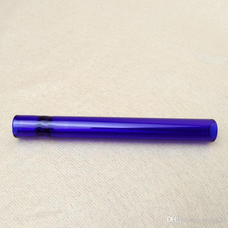 مصغرة لون الزجاج المتذوق الأنابيب سحق الزجاج اليدوية احد الضارب زجاج الأنابيب أنابيب المتذوق المحمولة لالجاف الأعشاب والتبغ