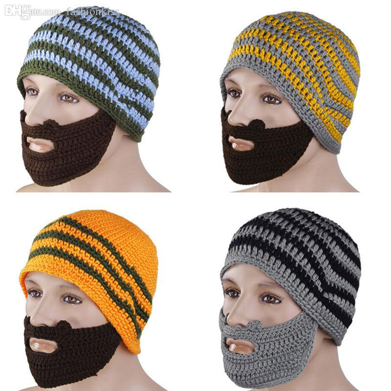 565ca5c1d2d Wholesale-Full Beard Beanie Mustache Mask Face Warmer Ski Winter Hat ...