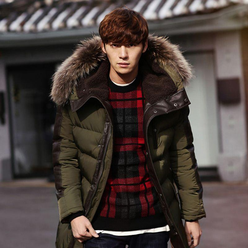 Fg1509 2015 Men'S Parkas Jacket Winter Jacket Men Fashion ...