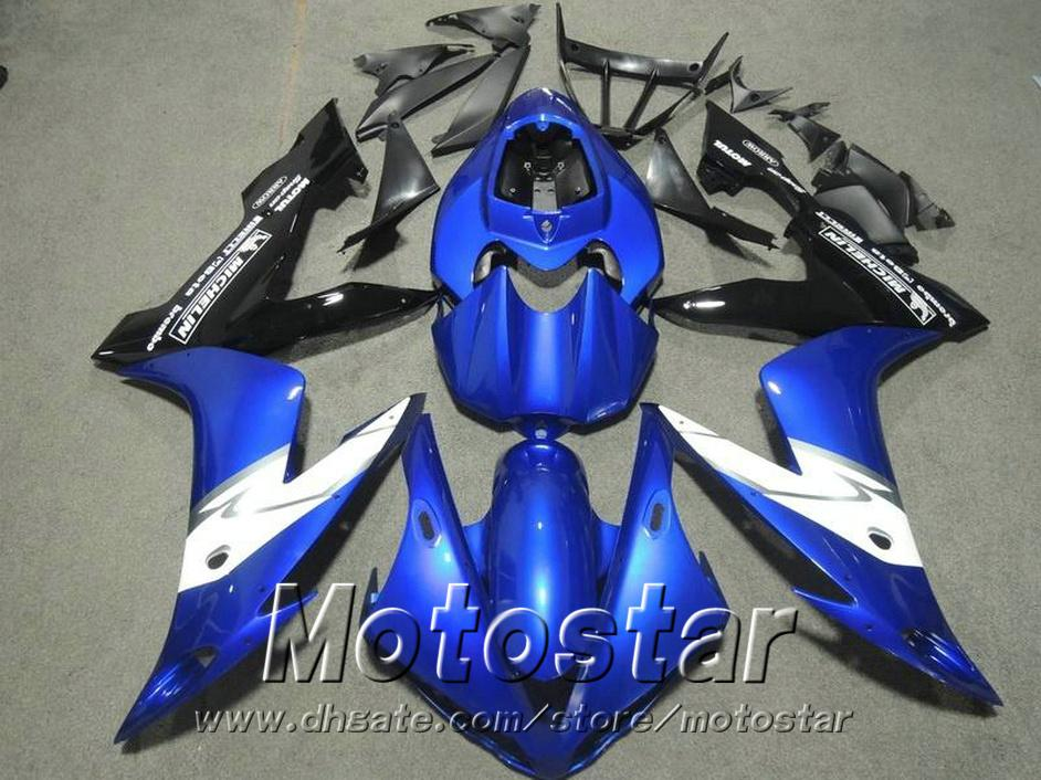 100% Injection molding highest quality fairings set for YAMAHA 2004 2005 2006 YZF R1 blue white black fairing kit 04-06 yzf-r1 RY10