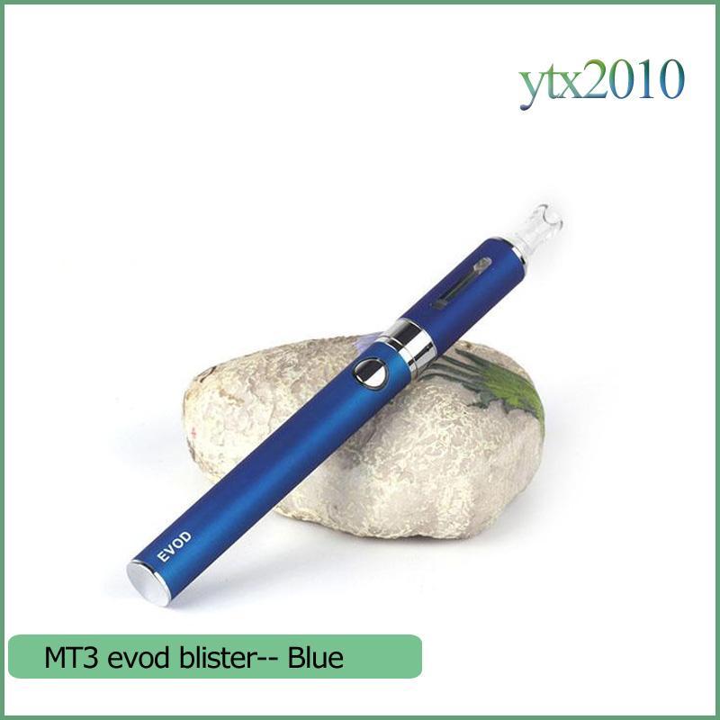 MT3 EOVD Starter Kit Elektronische Zigaretten Blister Kit 650mAh 900mAh 1100mAh 2.4ML MT3 Vaporzizer EVOD Batterie E Zigarette