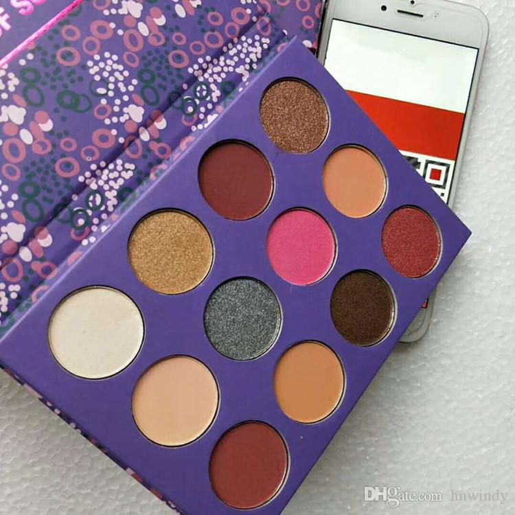 Dropshipping Farben-Knallelement der Überraschungsverfassungspalette Markenlidschattenpaletten-Lidschattenkosmetik Weihnachtsgeschenk für Mädchen 12 Farben