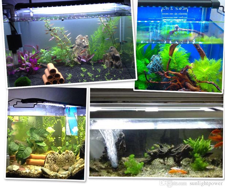 Aquarium LED Réservoir de Poissons Fishbowl Light Étanche LED Light Bar Submersible Underwater SMD LED Lampe de Lumière