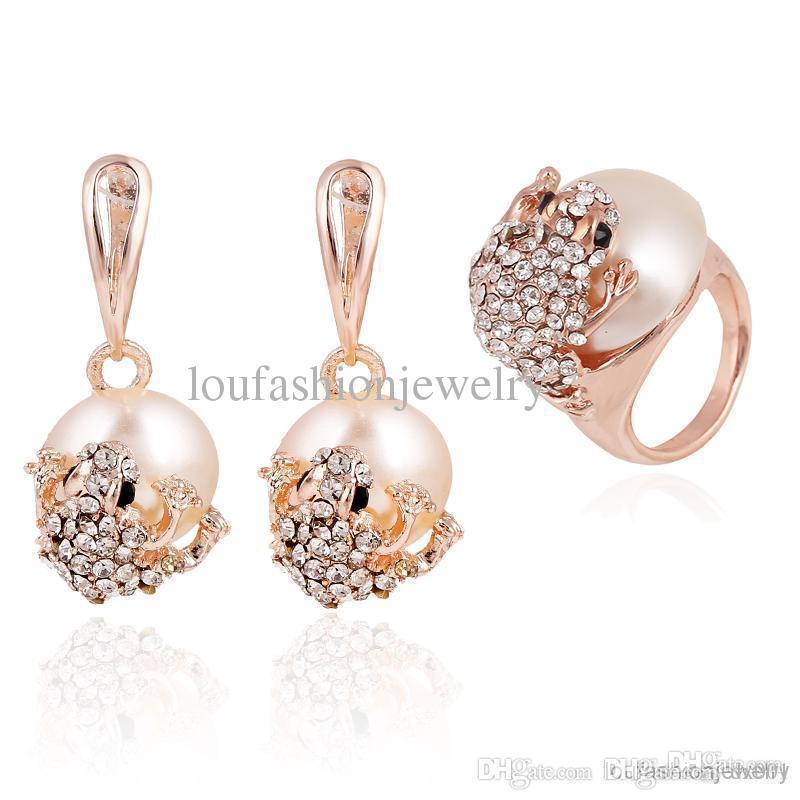 Indian Jewelry Set For Women Christmas Bridal Sets Geometric 18K