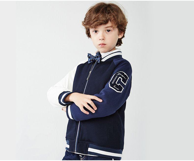 New Children Boys Baseball Jackets Spring Autumn Sport Coats Long ...