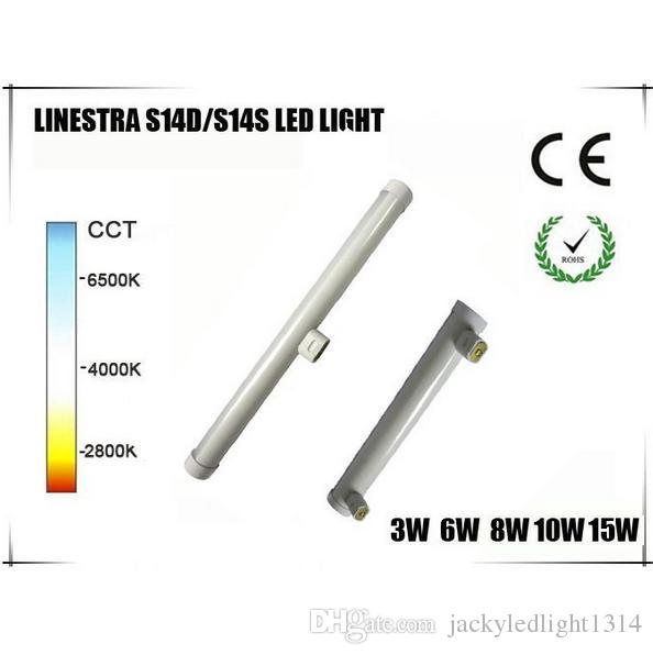 Osram Linestra Led dhl frees shipping newest led linestra s14d s14s led light 6w 500mm