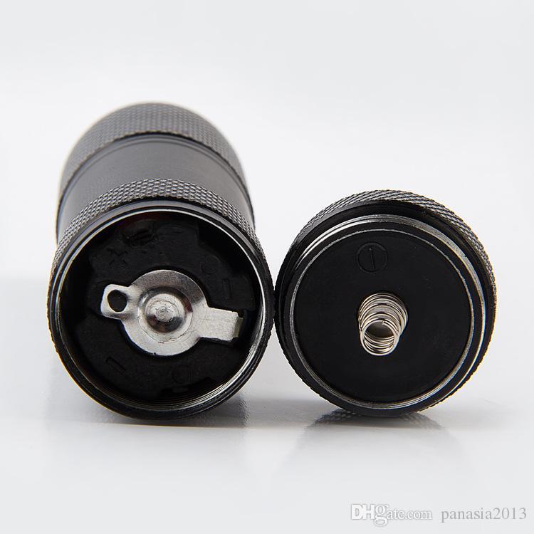 Nouvelle arrivée mini aluminium portable UV ultra violet blacklight 9 LED UV lampe de poche lampe de lampe de lampe de lampe de lampe de lampe à lampe de poche ultraviolette