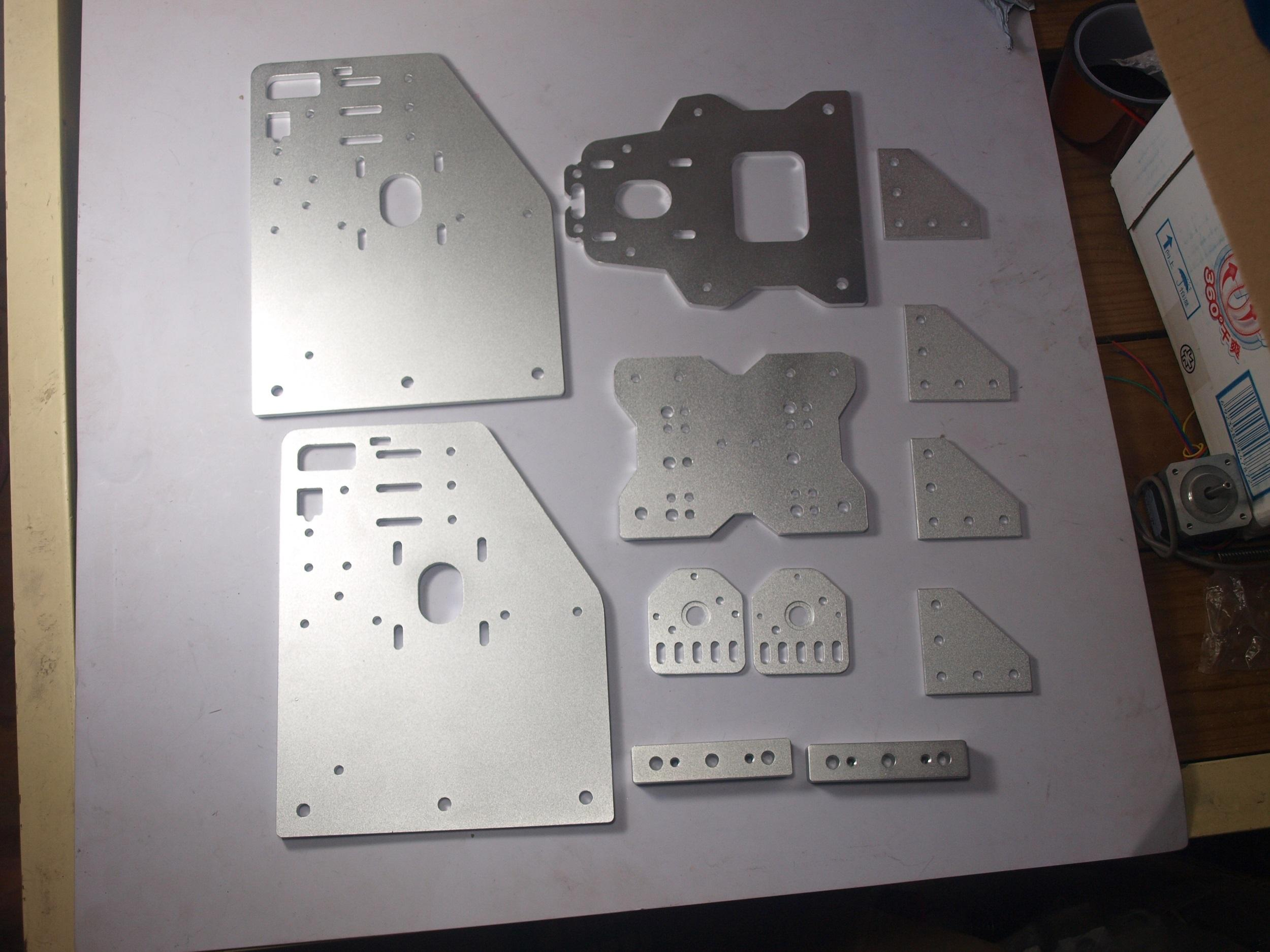 Ox Cnc Machine Parts Cnc Cut Aluminium Ox Gantry Plates