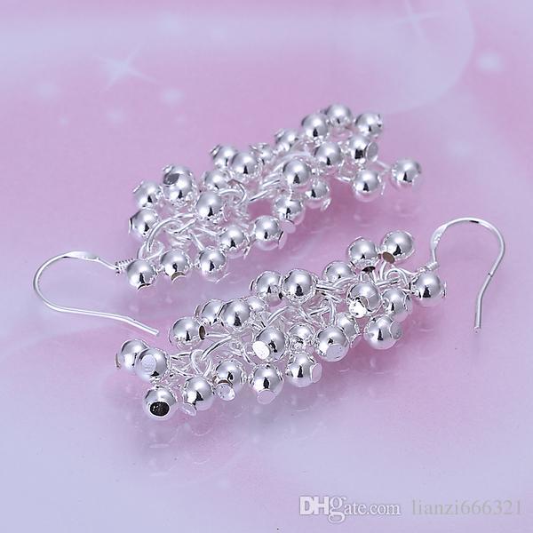 Mode Luxe Glamour Ashion Sieraden Fabrikant 20 Stks Veel Oorbellen 925 Sterling Zilveren Sieraden Fabriek Prijs Mode