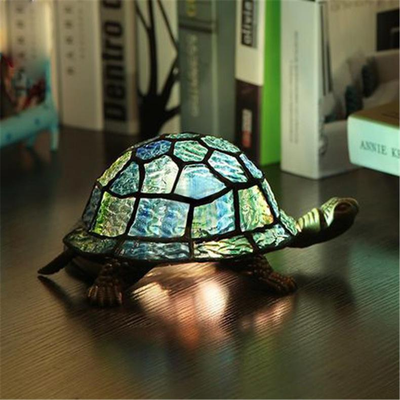 2018 Vintage Creative Tortoise Table Lamp Retro Classical Living Room Study  Bedroom Bedside Lamp Creative Personalized Wedding Tortois Table Lamp From  ...