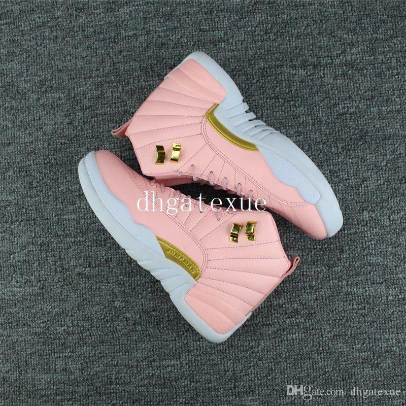 12 GS Pink Lemonade Shoes 12S Womens Pink Lemonade Size 36 40 With Box Mens  Shoes Loafers From Dhgatexue 07ff11a9b