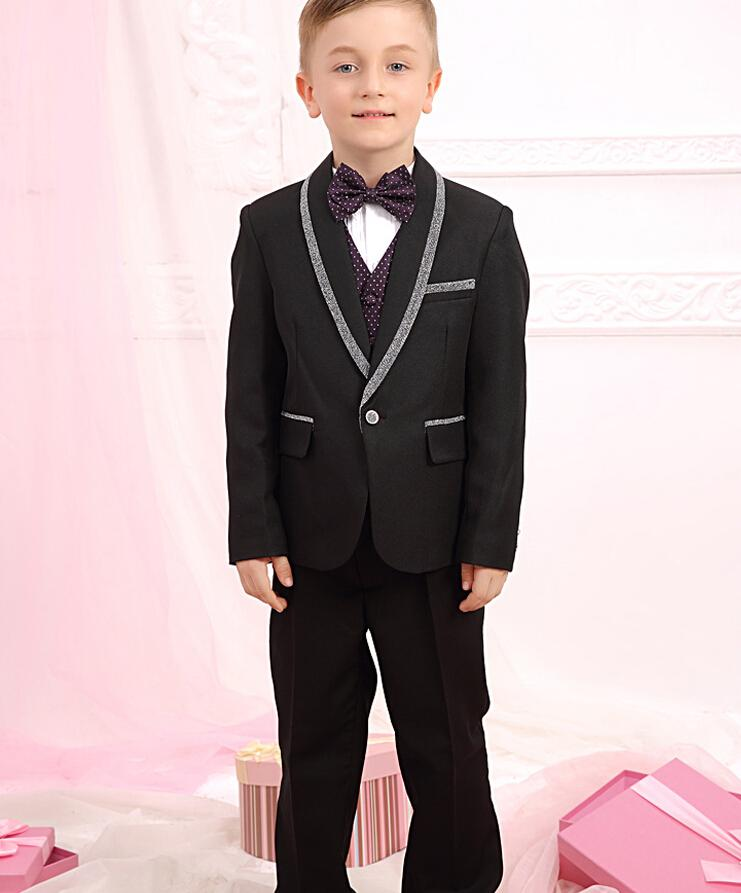 boy suits for wedding fashion little boys formal occasions suits tuxedos new style one button boy suits jacketpants mens wedding suits toddler clothes from - Pictures For Little Boys